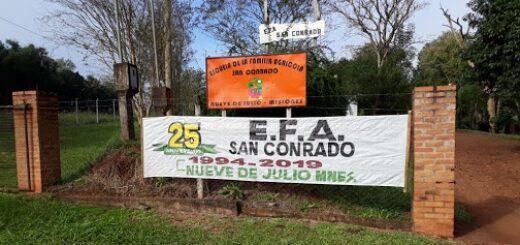 Las Escuelas de Familias Agrícolas en Misiones se encuentran preparadas para iniciar con el regreso a las aulas