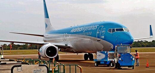 El jueves llegará el primer vuelo a Iguazú y el viernes a Posadas
