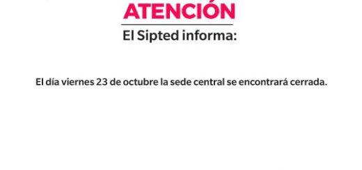Coronavirus: una trabajadora del SIPTED contrajo covid-19 y hoy cerraron las oficinas de manera preventiva