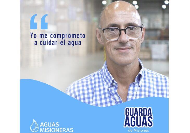 """El empresario Juan Ángel García Wall se suma a cuidar el agua: """"Tenemos la dicha de vivir en una provincia con mucha agua pero, si no la cuidamos, nuestros nietos no la van a tener"""""""