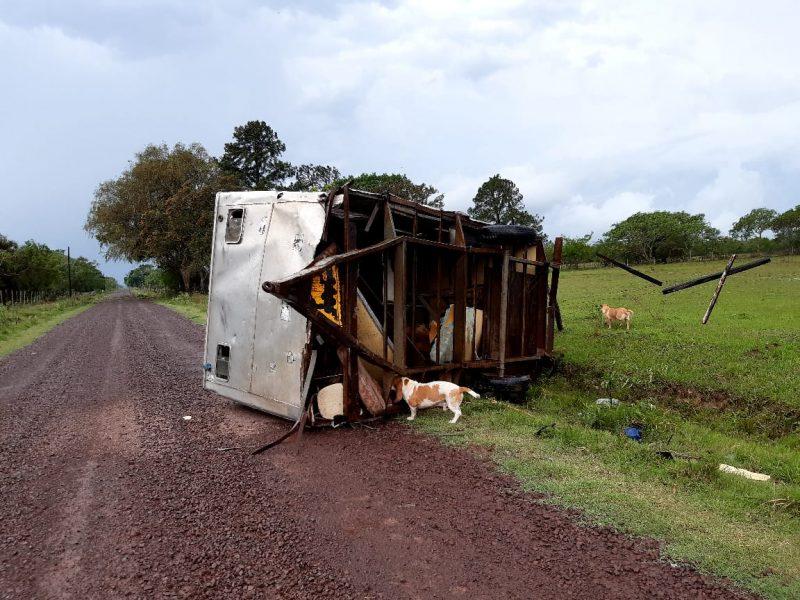 Temporal en Corrientes: fuertes tormentas causaron graves daños materiales en varias localidades