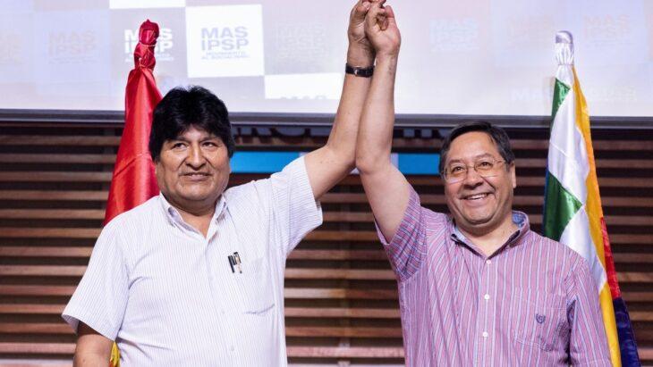 De la mano de Arce, el partido de Evo retorna al poder en Bolivia