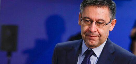 Josep María Bartomeu renunció a la presidencia del Barcelona