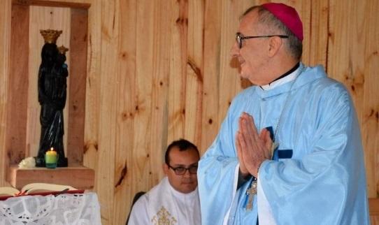 """Carta del obispo de Posadas, Juan Rubén Martínez: """"Aquí estoy, mándame """""""