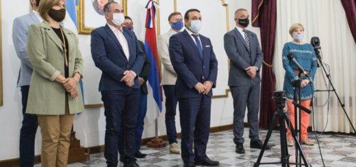 Leonardo Stelatto acompañó la asunción del nuevo ministro de Cambio Climático
