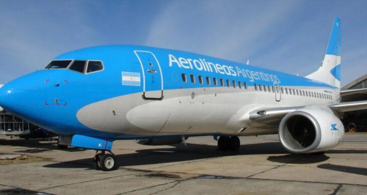 Regreso de los vuelos: Aerolíneas Argentinas usa un nuevo aparato para desinfectar a los aviones contra el Covid-19