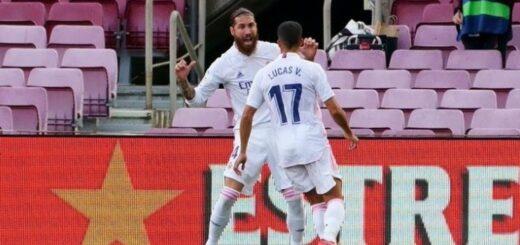 Real Madrid venció al Barcelona por 3 a 1 en el clásico de la Liga de España