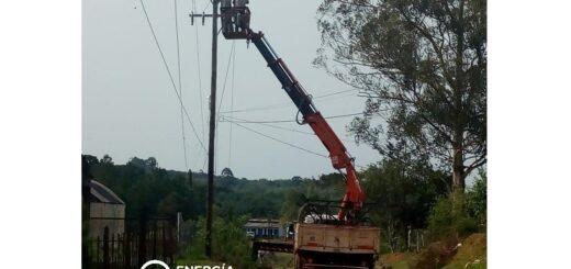 Energía de Misiones realizó la instalación de infraestructura y equipamientos en Iguazú y San Pedro