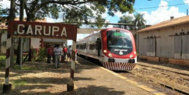 Estiman que el tren que conectará Posadas y Garupá empezará a funcionar en diciembre