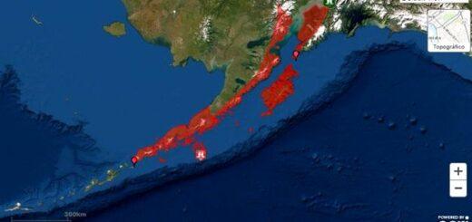 Alerta de tsunami en Alaska tras fuerte sismo de 7.5