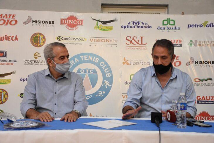 Estudiantes de Kinesiología realizarán sus prácticas profesionales con jugadores del Oberá Tenis Club (OTC)