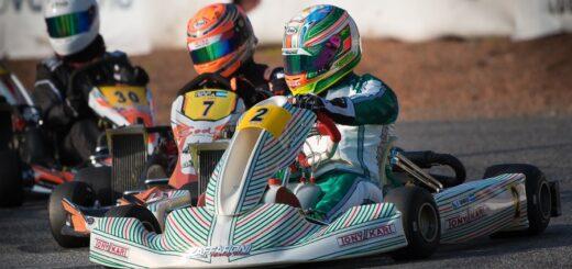 Karting: Francesco Grimaldi fue décimo en la vuelta de la Rotax Bue