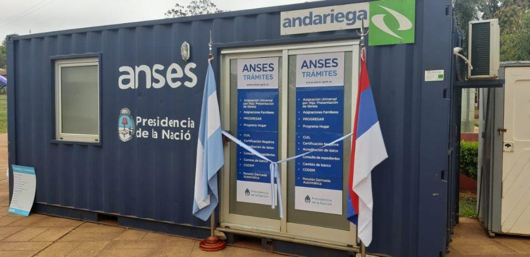 ANSES inauguró su nuevo punto de atención en Villa Cabello