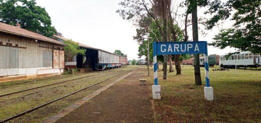 Inauguran un tramo del tren de Posadas a Garupá entre La Mansa y la cabecera hacia Encarnación