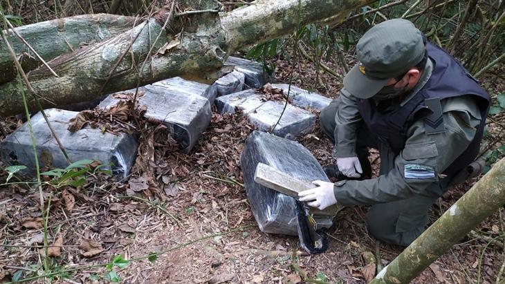 Gendarmería incautó 260 kilos de marihuana en San Ignacio