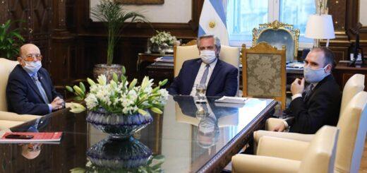 El Presidente se reunió con el dueño de la línea de supermercados Coto