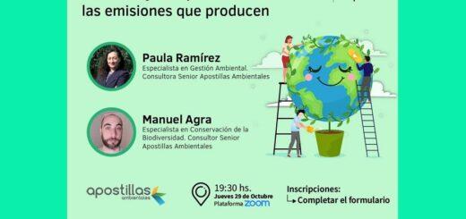 """La Asociación Misionera de Marketing invita a la charla """"Eventos Online Sostenibles. Medición y compensación de las emisiones que producen"""""""