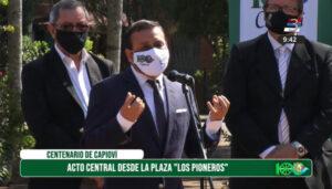 Herrera Ahuad anunció la construcción de la nueva Terminal de Capioví