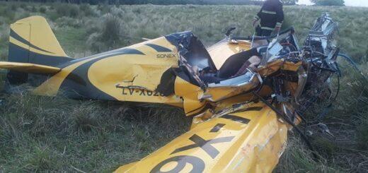 Misiones: un hombre falleció y su hijo se encuentra grave, tras caer la avioneta que piloteaban en Parada Leis