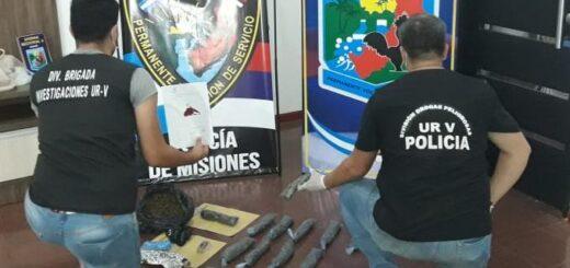 Puerto Iguazú: desmantelaron un quiosco narco en el barrio Santa Rosa