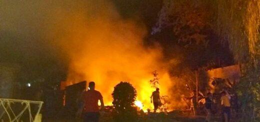 Puerto Iguazú: los Bomberos Voluntarios trabajaron en varios incendios el fin de semana