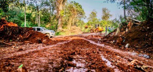 Eldorado: abrieron caminos internos que estaban cerrados para controlar la circulación