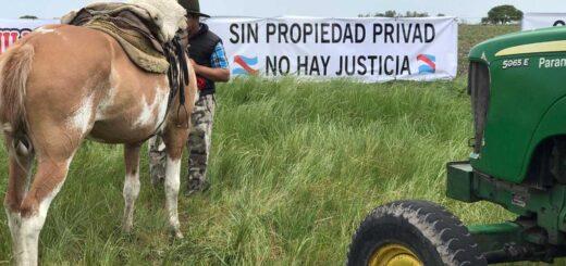 Luis Etchevehere denunció el ingreso de vehículos y personas vinculadas al gobierno para reforzar la ocupación en Entre Ríos y convocaron a un banderazo