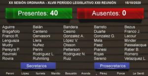 VIVO: la Legislatura Misionera se apresta a sancionar el Presupuesto 2021