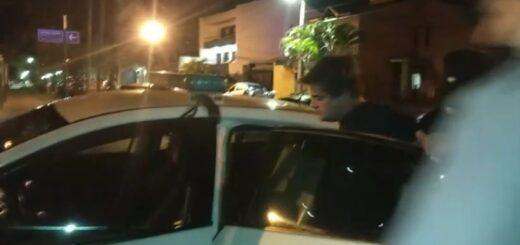 Video: se resistió pero detuvieron al hombre que provocó un choque múltiple en Posadas y que arrojó 1,47 en la alcoholemia