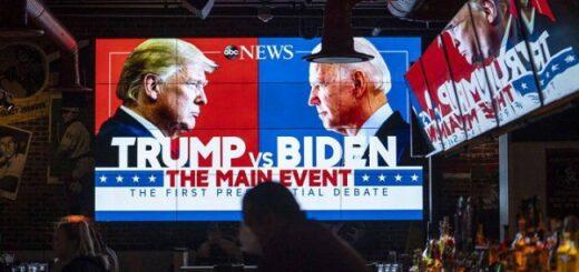 Elecciones en Estados Unidos: Biden se ubica 12 puntos arriba de Trump, a tres semanas de los comicios