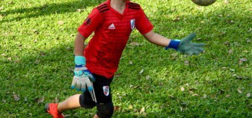 Emiliano Mendoza, desde la Unión Cultural de Eldorado directo a River Plate