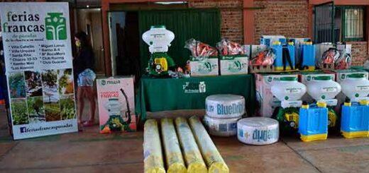 Productores de Ferias Francas contarán con un banco de herramientas a partir del convenio firmado entre la Provincia y Desarrollo Social de la Nación