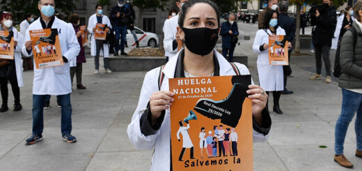 España: médicos van a huelga en medio de la segunda ola de coronavirus