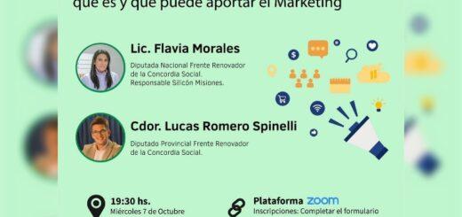 La Asociación Misionera de Marketing realizará una charla virtual con el apoyo de Silicon Misiones y Misiones Online