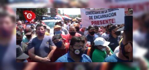 Con camas colapsadas por Coronavirus, en Encarnación amenazan con retener camiones argentinos para presionar en la apertura de la frontera
