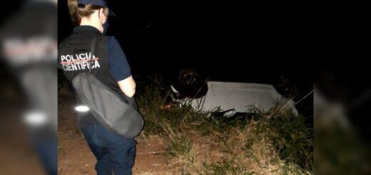 Piñalito Norte: un hombre falleció tras despistar con su automóvil en la ruta nacional N°101