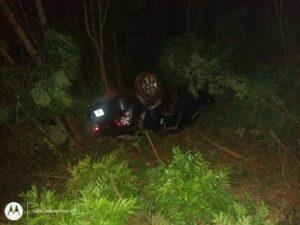 Padre e hija heridos tras un despiste en Jardín América