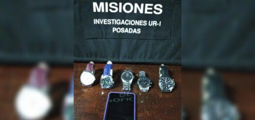 Piden la excarcelación del joyero involucrado en la venta de relojes robados en Posadas