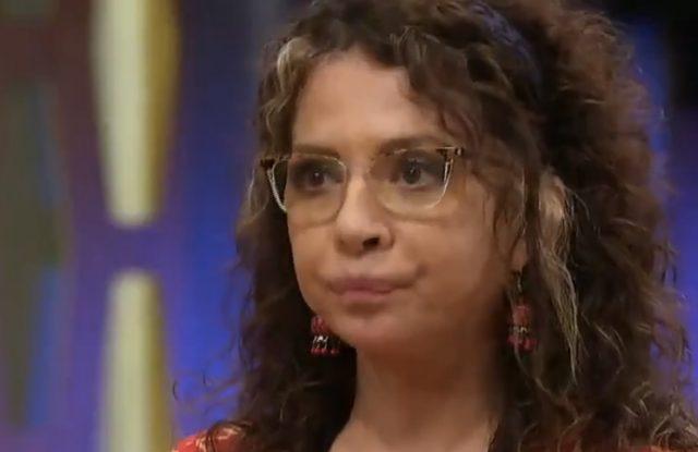 Patricia Sosa es la tercer eliminadade MasterChef Celebrity