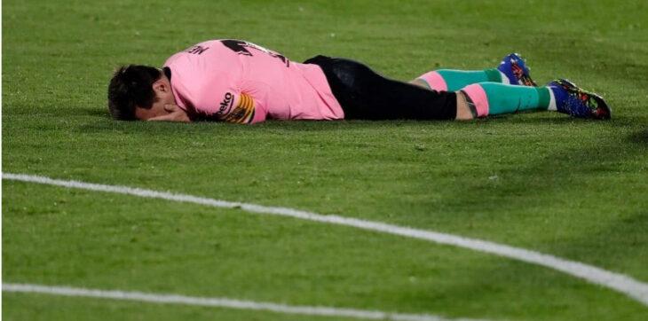 Barcelona perdió con Getafe a una semana del Clásico de España