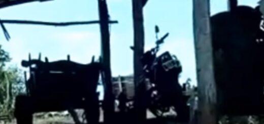 En una chacra de Leandro N. Alem, secuestraron una moto vinculada a los supuestos robos en el corralón municipal