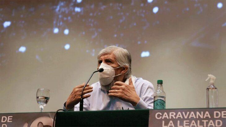 Hugo Moyano, habló sobre la caravana por el 17 de Octubre: «Queremos demostrarle nuestro apoyo al Gobierno»