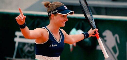 Nadia Podoroska va por la gloria en Roland Garros y se mide ante Svitolina en cuartos de final