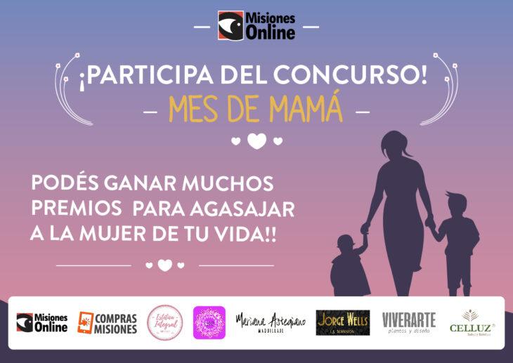 Concurso Mes de mamá: Participá y ganate premios para agasajar a la mujer más importante de tu vida