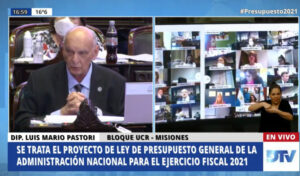 """Luis Pastori anticipó en el recinto que acompañará """"en particular"""" la automatización del FET y la creación de un área aduanera especial para Misiones"""