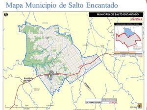 Municipio 77: concejales de Aristóbulo del Valle se reunieron con la comisión asesora para conocer detalles del proceso de institucionalización de Salto Encantado