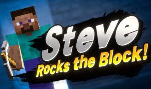 Steve, rocks the block