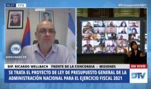"""Ricardo Wellbach: """"Misiones se metió con su propuesta en la agenda nacional"""""""