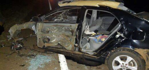 Triple choque fatal en Misiones: hay un muerto y dos heridos