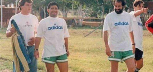 Oscar Herrera Ahuad contó en sus redes sociales un emotivo recuerdo suyo de Maradona